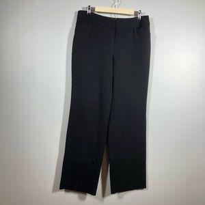 Rafaela Curvy Black Slacks, Size 12